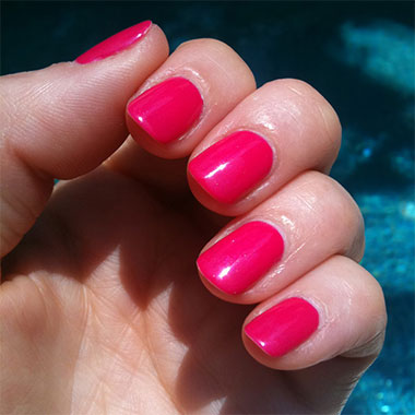 Gel nails example