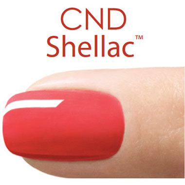 Gel nails from Shellac CND