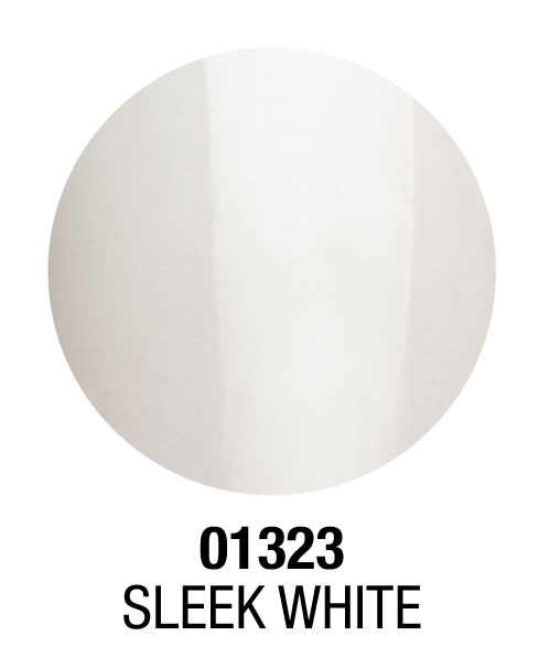 01323 Sleek White